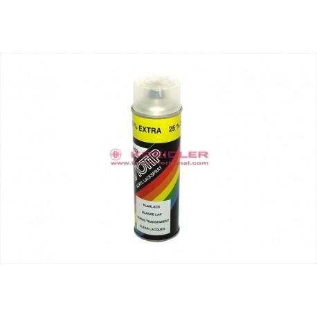 Spray 2 components white varnish