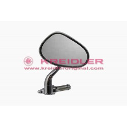 Oval mirror left handlebar mounting